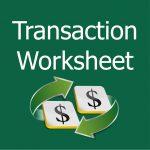 Transaction Worksheet Tab